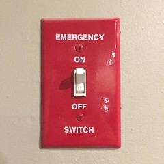 This is the Emergency Switch. You turn this on when I enter the room. Because I'm about to BRING THE HOUSE DOOOWN #cincodemayo #emergency