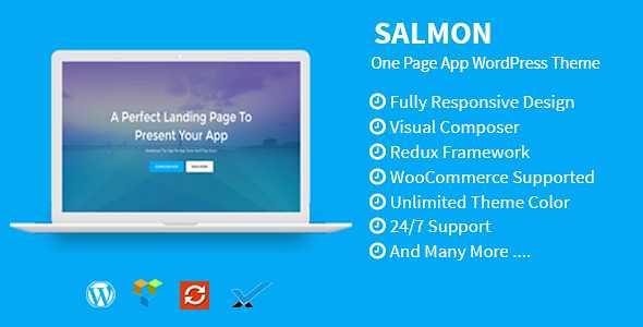 Salmon WordPress Theme free download