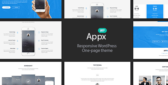 Appx WordPress Theme free download