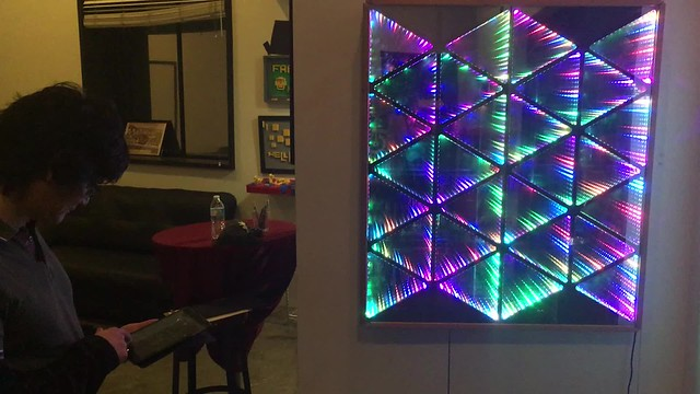 Isometric infinity mirror with Michael Lim