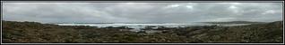 Stokes Point panorama, King Island. 2004. Peter Ne