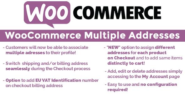 WooCommerce Multiple Customer Addresses v6.0