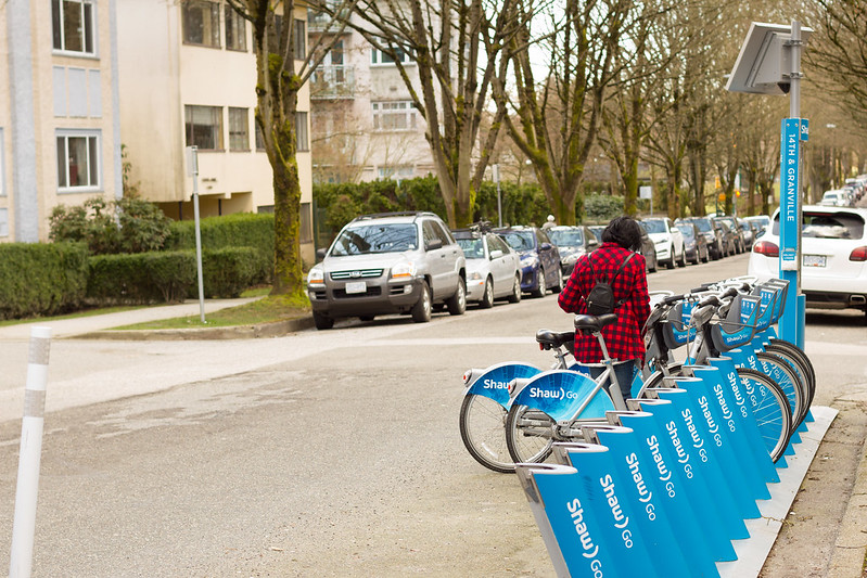 Shaw Bike Share, South Granville