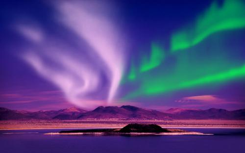 Bí ẩn của Mặt Trời, hiện tượng cực quang.