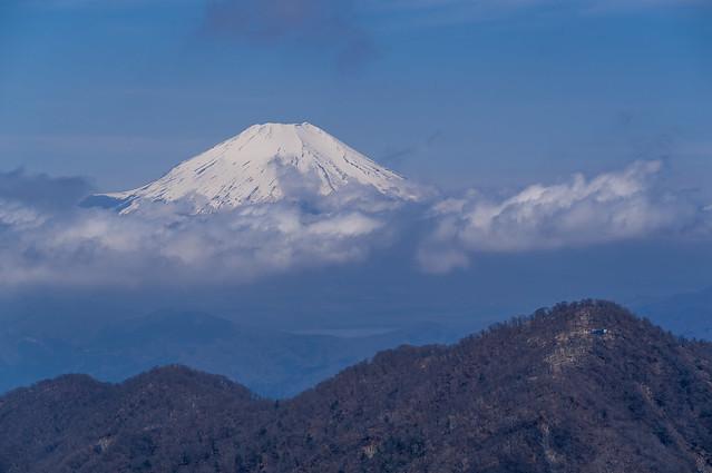 富士と檜洞丸