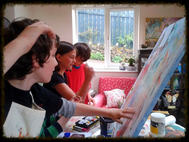 Childrens Painting Class