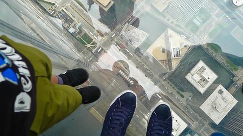 103 floors down