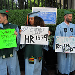 Columbia Graduates Call for Robin Hood Tax on Wall Street to Address Student Debt