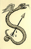 Winged Serpent with Arrow by Crispy Copper