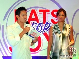 East for Joy Launch @ Chili's: Hpsts Marc Nelson & Miriam Quiambao