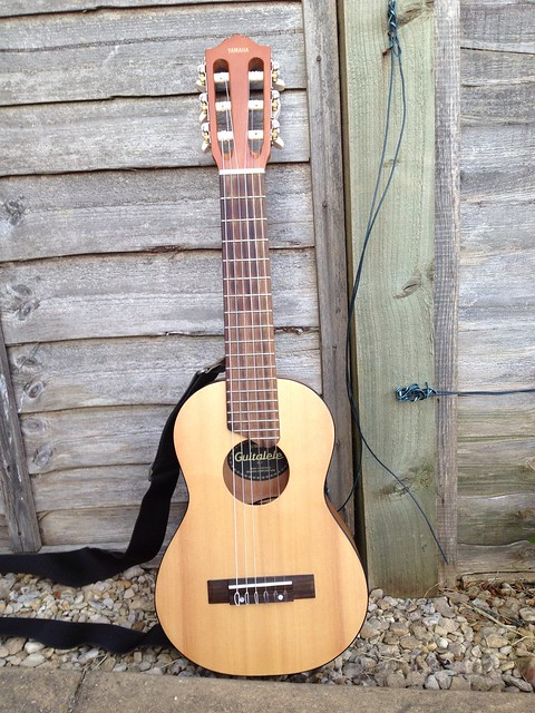 Photo:Yamaha GL-1 Guitalele - front view By tawalker