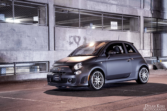 Matte Black Fiat 500 Abarth Flickr Photo Sharing