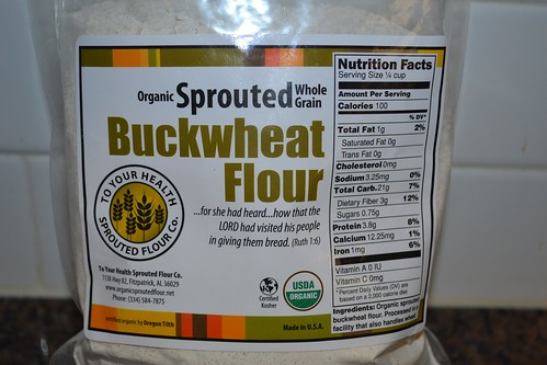 Organic Sprouted Buckwheat Flour from To Your Health Sprouted Floor Co.