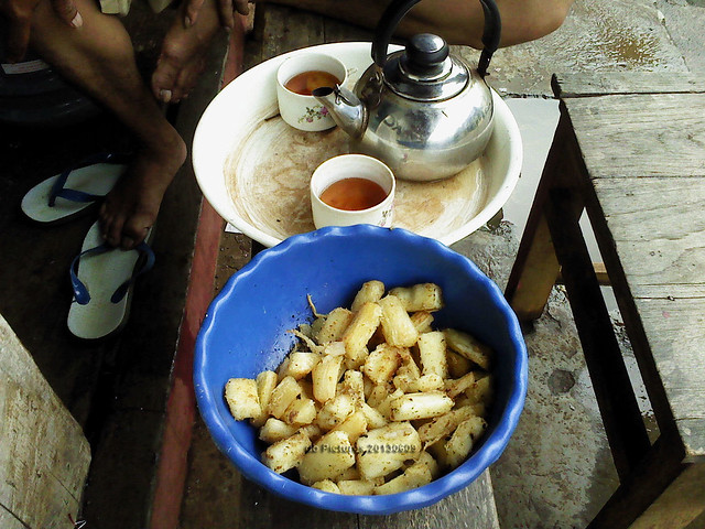 Cups of Tea & Fried Cassava