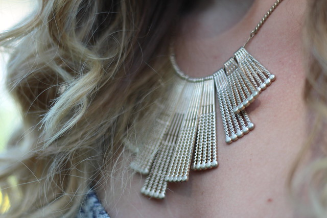 Living After Midnite: mark. Statement Maker Necklace: Outfit Fashion: Jackie Giardina