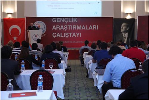 Rektör Tarhan Gençlik Araştırmaları Çalıştayına katıldı