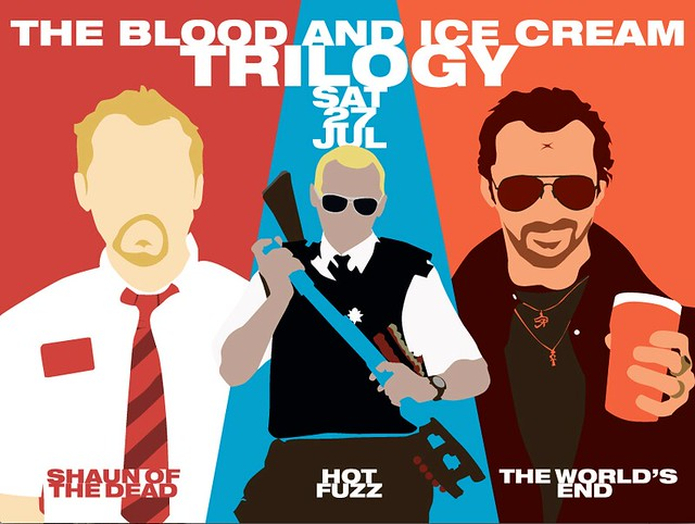 Picturehouse Cinemas / Trilogy screenings of Shaun of the Dead, Hot Fuzz and The World's End on 27th July