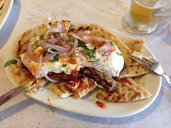 Greek taverna food