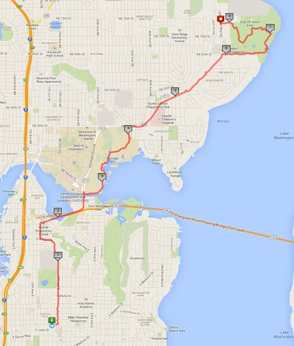 Friday's awesome walk, 8.15 miles in 2:32 by christopher575