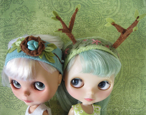 woodland headbands