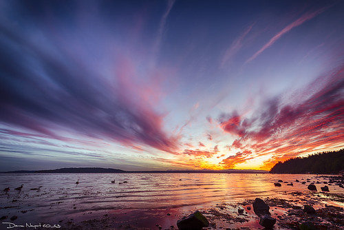 sunset water clouds washington unitedstates pugetsound saltwater cloudysky normandypark desmoinesmarina leebigstopper