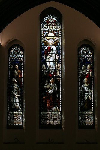 The Ascension window - south transept - 1899