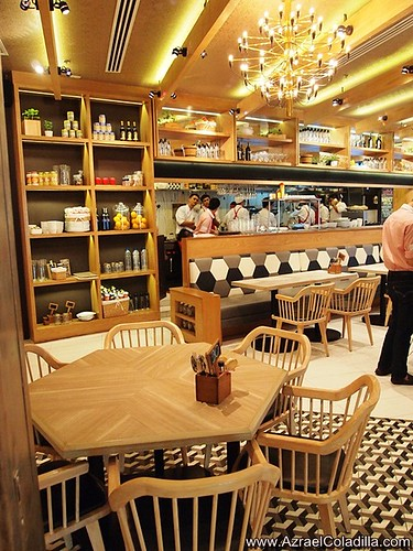 Spätzle : Euro Market Cafe in East Wing of Shangri La Plaza