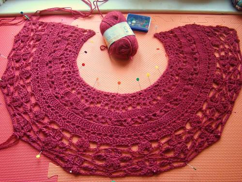 Chanson en Crochet wip