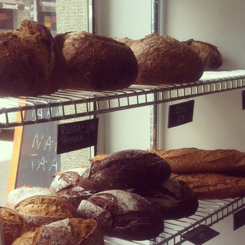 Fresh bread at #goodpiebakery