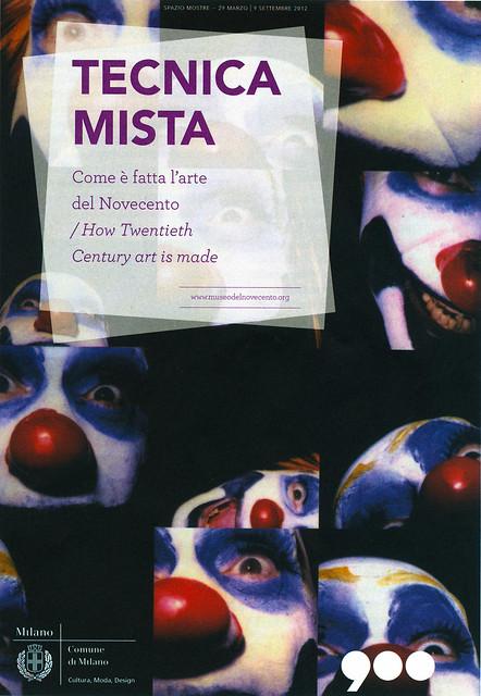 2012 TECNICA MISTA Museo del 900 Milano