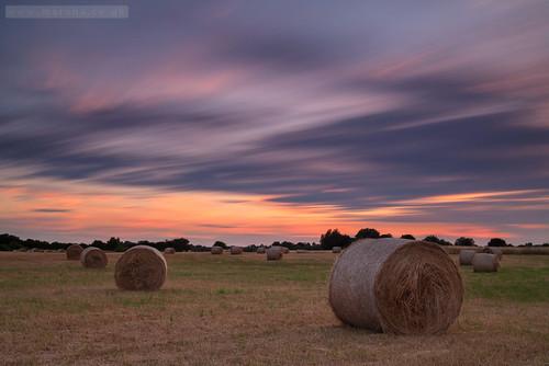 longexposure cambridge sunset england unitedkingdom sawston haybales stapleford bw10stopfilter