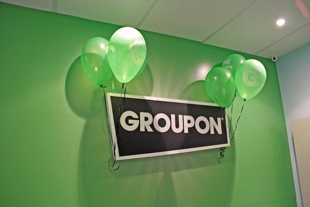 Groupon 3 anos