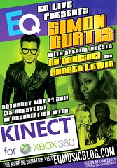 EQ Live Presents Simon Curtis and Friends