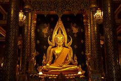 Phra Buddha Chinnarat,  Wat Phra Si Rattana Mahathat
