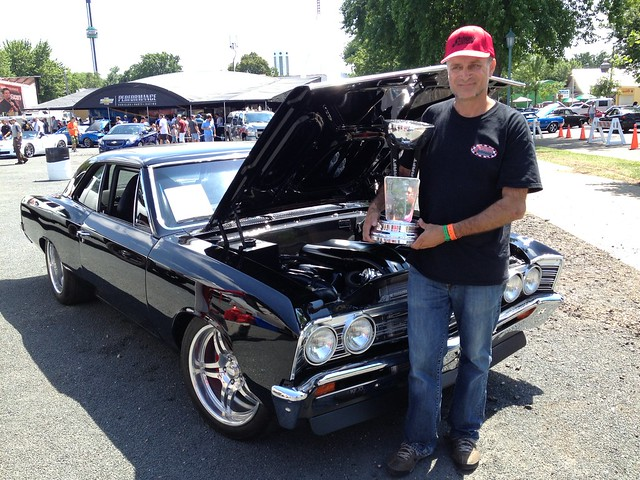 ProBuilder in front of Chevelle
