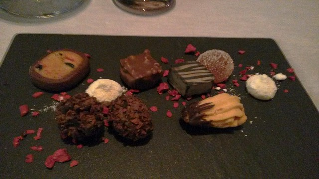 Chocolates at Tosca