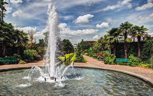 Canal Fountain Daniel Stowe Botanical Garden Belmont Nor Flickr Photo Sharing
