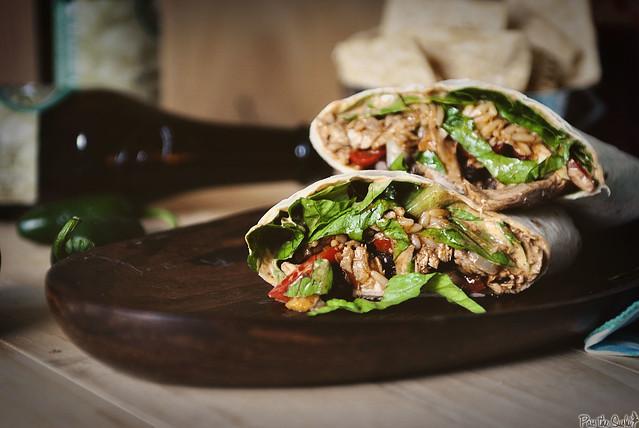 Weeknight Turkey Burritos via GirlCarnivore.com