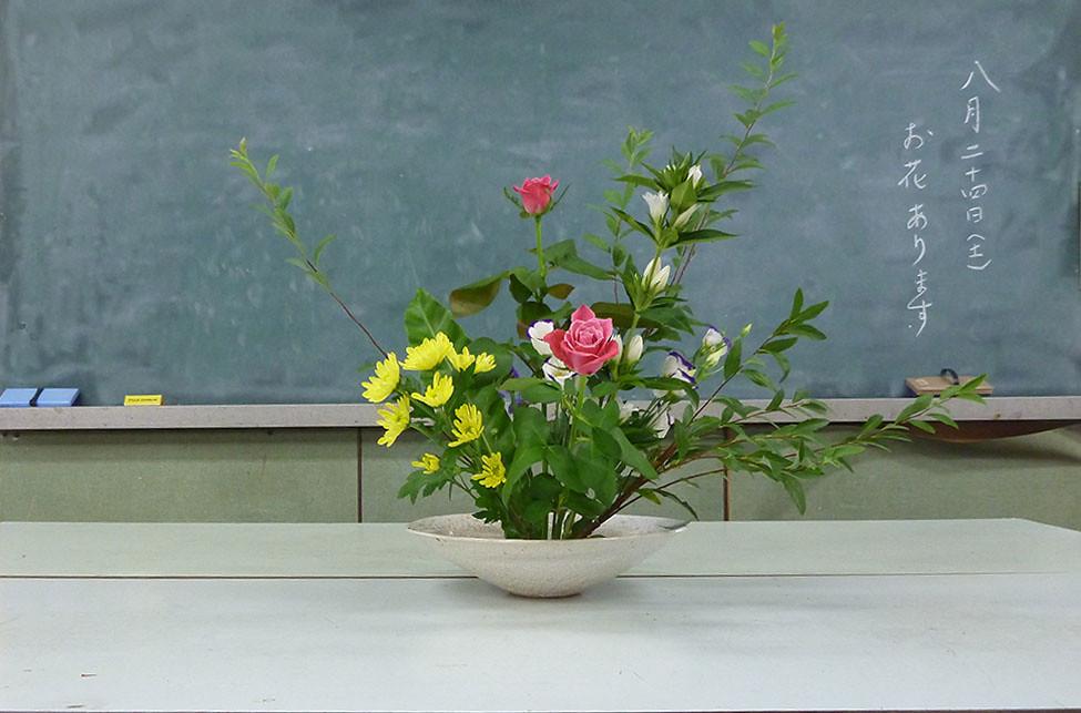 【盛花】コデマリ、バラトルコキキョウ【2013_08_24】