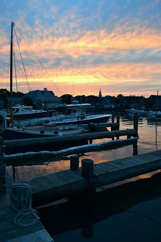 sunset harbor massachusetts nantucket
