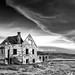 Ghost house before storm - 2nd Place - Black & White - Al Perry