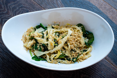 Strozzapreti with Spinach and Preserved Lemon Kristi