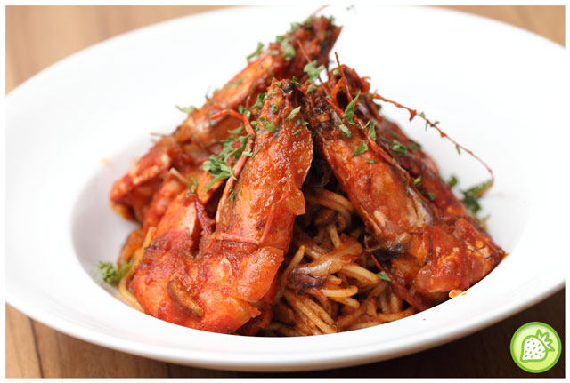 tomyam spaghetti