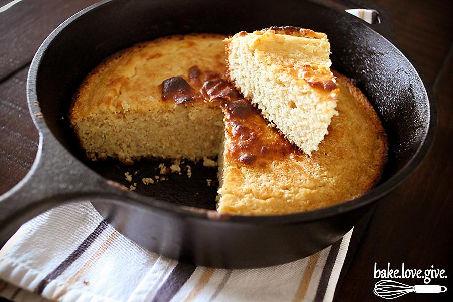 Buttermilk Skillet Cornbread recipe just like grandma used to make