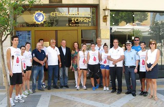 Σύλλογος Τερπνιωτών Θεσσαλονίκης Η Τέρπνη 11η πανελληνια λαμπαδηδρομια