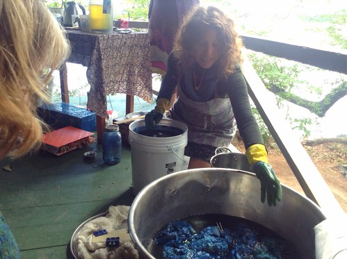 Indigo Dyeing Demo with Amy Lou Stein