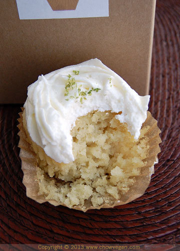 Sweet Aha! Coconut Lime Cupcake