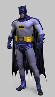 Batman Arkham Origins: Classic TV Series Batman skin
