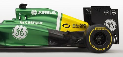 Korean GP RSM branding rear view close up