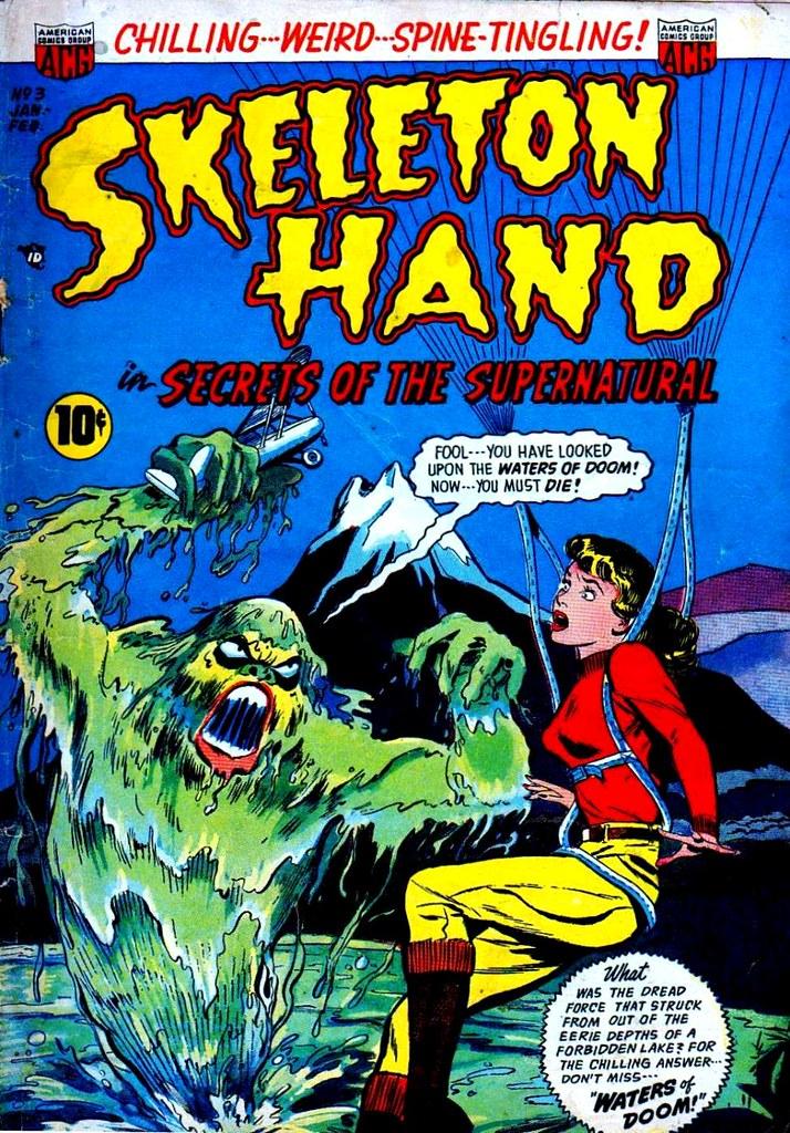 Skeleton Hand 3 ACG 1953